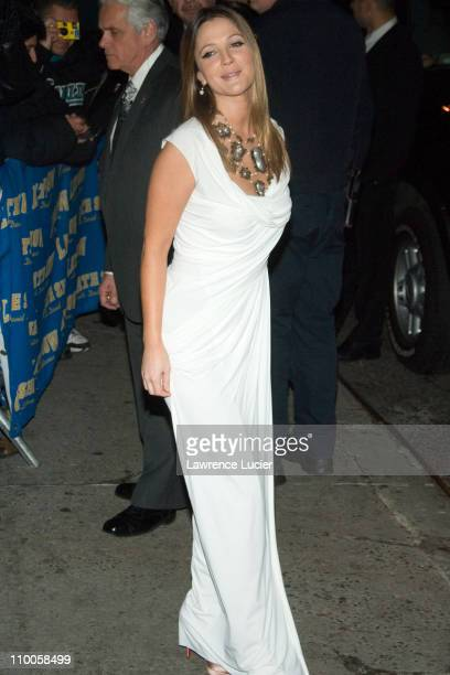 Drew Barrymore during Drew Barrymore Outside The Late Show with David Letterman - February 12, 2007 at Ed Sullivan Theater in New York City, New...