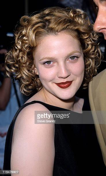 Drew Barrymore during ''Ever After'' Los Angeles Premiere at The Academy in Beverly Hills California United States
