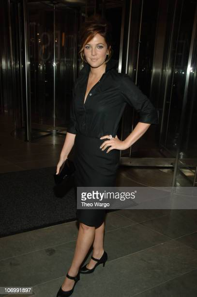 Drew Barrymore during Olympus Fashion Week Spring 2007 - Calvin Klein - After Party Hosted by Drew Barrymore and Maggie Gyllenhaal at 7 World Trade...