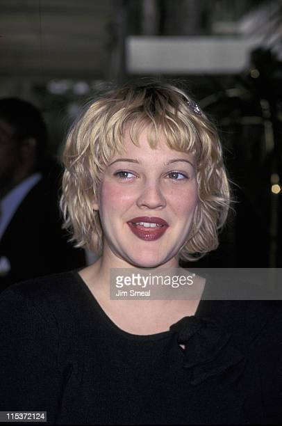 Drew Barrymore during Premiere Magazine's Annual 'Women In Hollywood' Luncheon in Los Angeles California United States