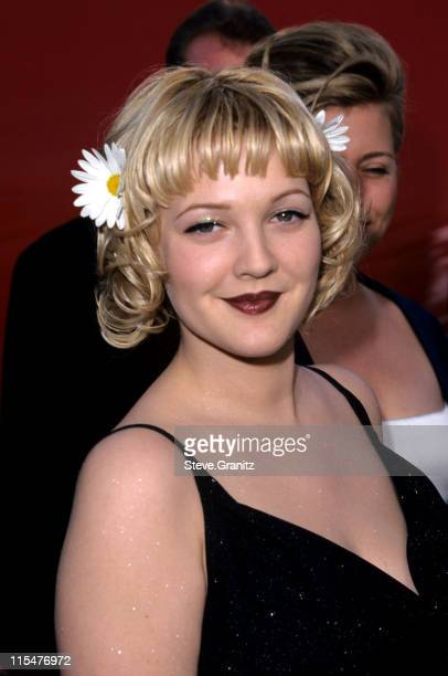 Drew Barrymore during The 70th Annual Academy Awards Red Carpet at Shrine Auditorium in Los Angeles California United States