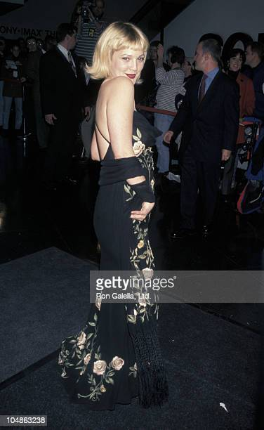Drew Barrymore during 'The Wedding Singer' New York City Premiere at Sony Lincoln Square in New York City New York United States