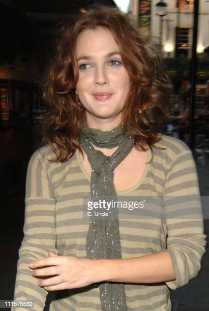Drew Barrymore *Exclusive Coverage* during Drew Barrymore Sighting in London July 28 2005 at Central London in London Great Britain