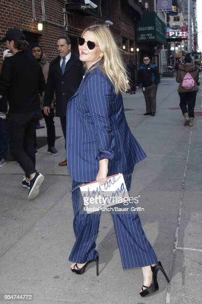 Drew Barrymore is seen on March 19 2018 in New York City