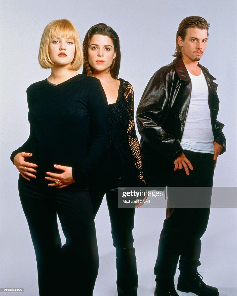 "Cast of ""Scream"", Movie Magazine, January 1997 : News Photo"