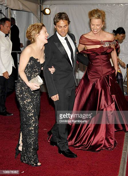 Drew Barrymore Stuart Townsend and Charlize Theron