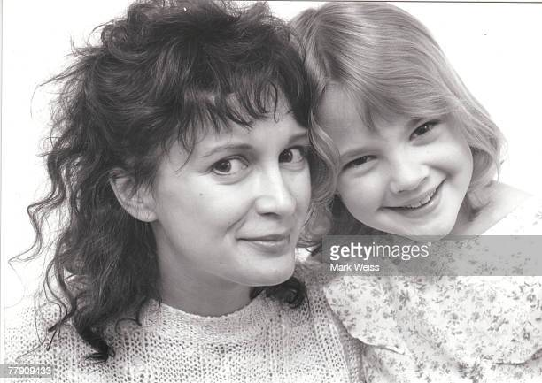 Drew Barrymore with mother Jaid Barrymore File photo promoting the motion picture ET in 1982