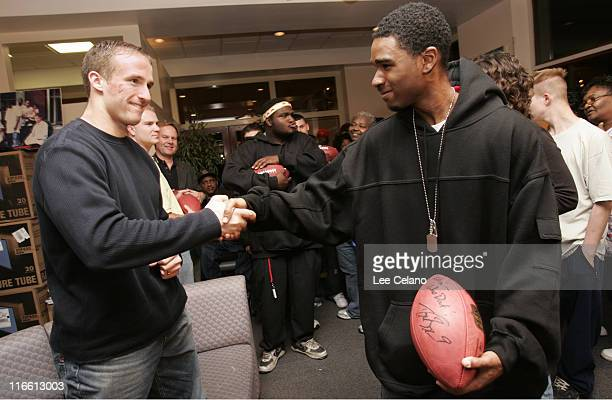 Drew Brees during eBay Holiday Dreams Meet and Greet with New Orleans Saints Quarterback Drew Brees at Covenant House in New Orleans December 4 2006...