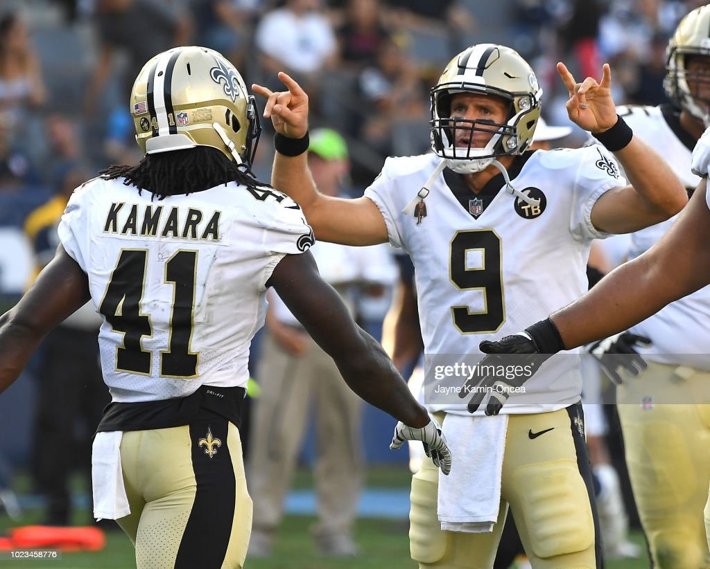 New Orleans Saints v Los Angeles Chargers : News Photo