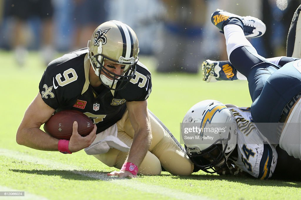 New Orleans Saints v San Diego Chargers : News Photo