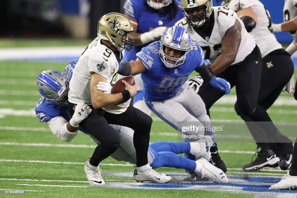 New Orleans Saints v Detroit Lions : News Photo