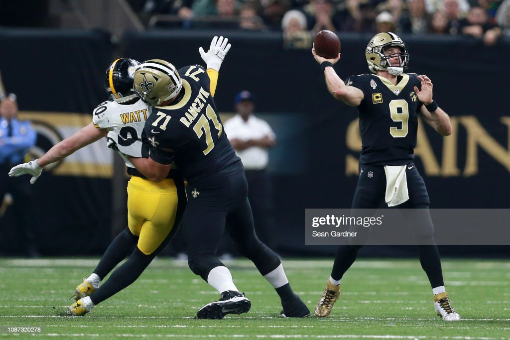 Pittsburgh Steelers v New Orleans Saints : News Photo
