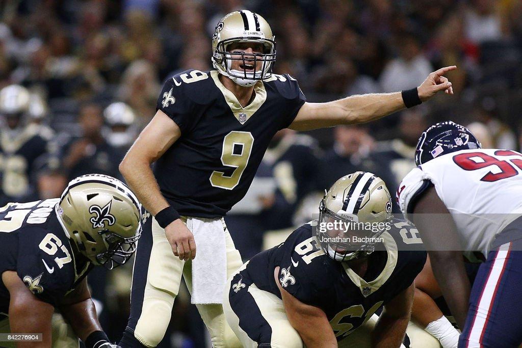 Houston Texans v New Orleans Saints : News Photo