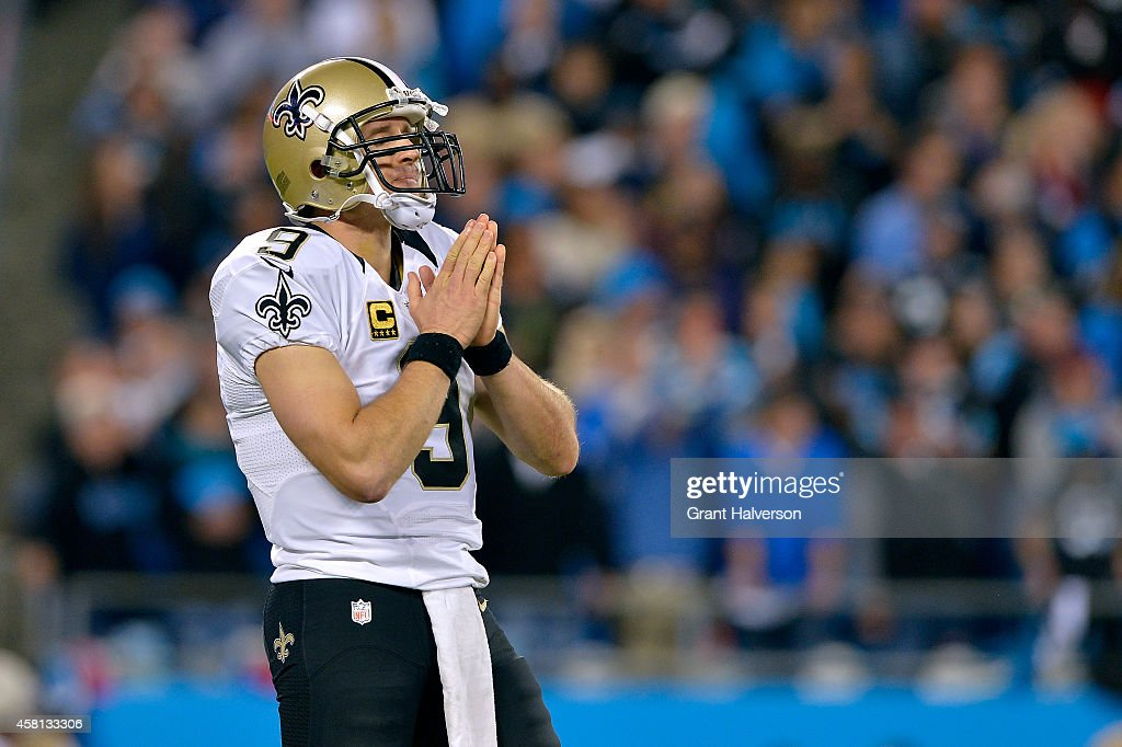 New Orleans Saints v Carolina Panthers : News Photo