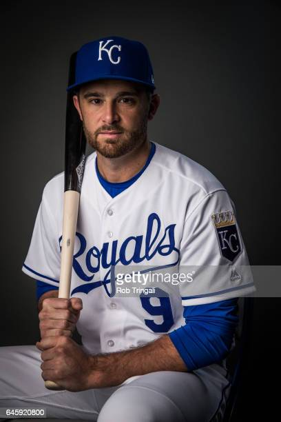 Drew Butera of the Kansas City Royals poses for a portrait at the Surprise Sports Complex on February 20 2017 in Surprise Arizona