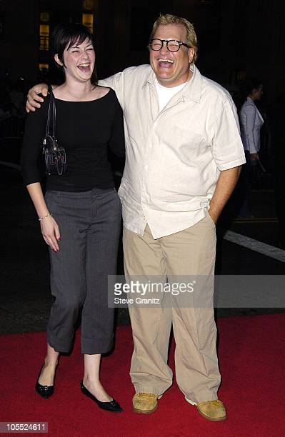 Drew Carey and Brandi Hudson during Sky Captain and the World of Tomorrow Los Angeles Premiere Arrivals at Grauman's Chinese Theatre in Hollywood...
