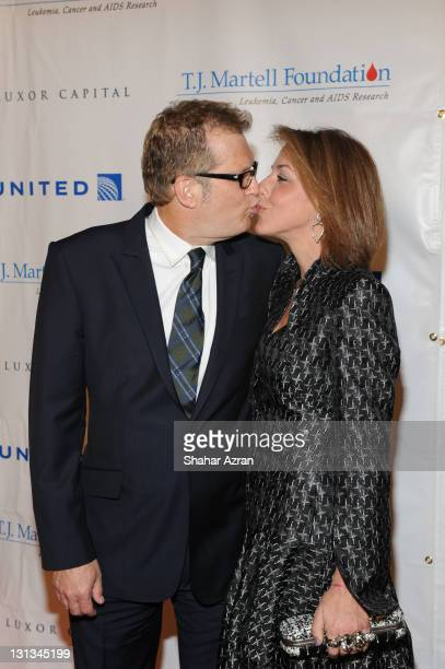 Drew Carey and his wife Nicole Jaracz attends the 36th annual TJ Martell Foundation's Honors gala at the Marriott Marquis Times Square on November 3...