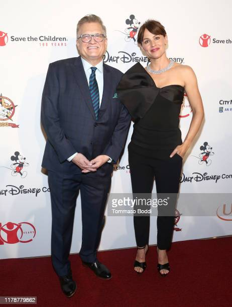 Drew Carey and Jennifer Garner attends Save The Children's Centennial Celebration Once in a Lifetime at The Beverly Hilton Hotel on October 02 2019...
