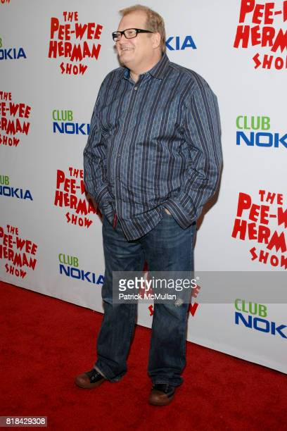 Drew Carey attends The Pee Wee Herman Show Opening Night at Club Nokia on January 20 2010 in Los Angeles California