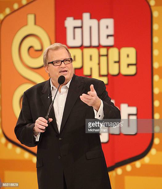 Drew Carey attends 'The Price Is Right' special Academy of Country music themed show taped at CBS Studios Television City on March 9 2009 in Los...