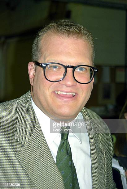 Drew Carey during Drew Carey appears on Live with Regis Kathie Lee March 28 1997 at ABC Studios in New York City New York United States
