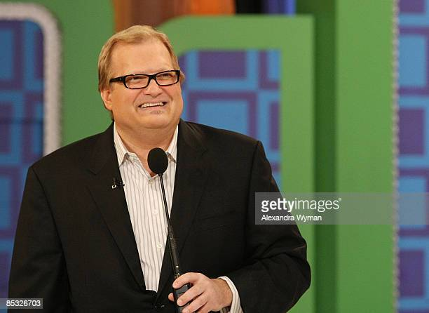 Drew Carey hosts The Price Is Right Academy Of Country Music Awards Themed Show at CBS Studios on March 9 2009 in Studio City California