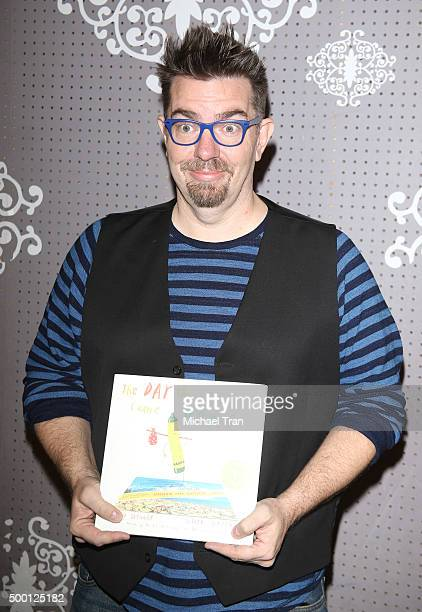 Drew Daywalt at his book signing held at Children's Book World on December 5 2015 in Los Angeles California