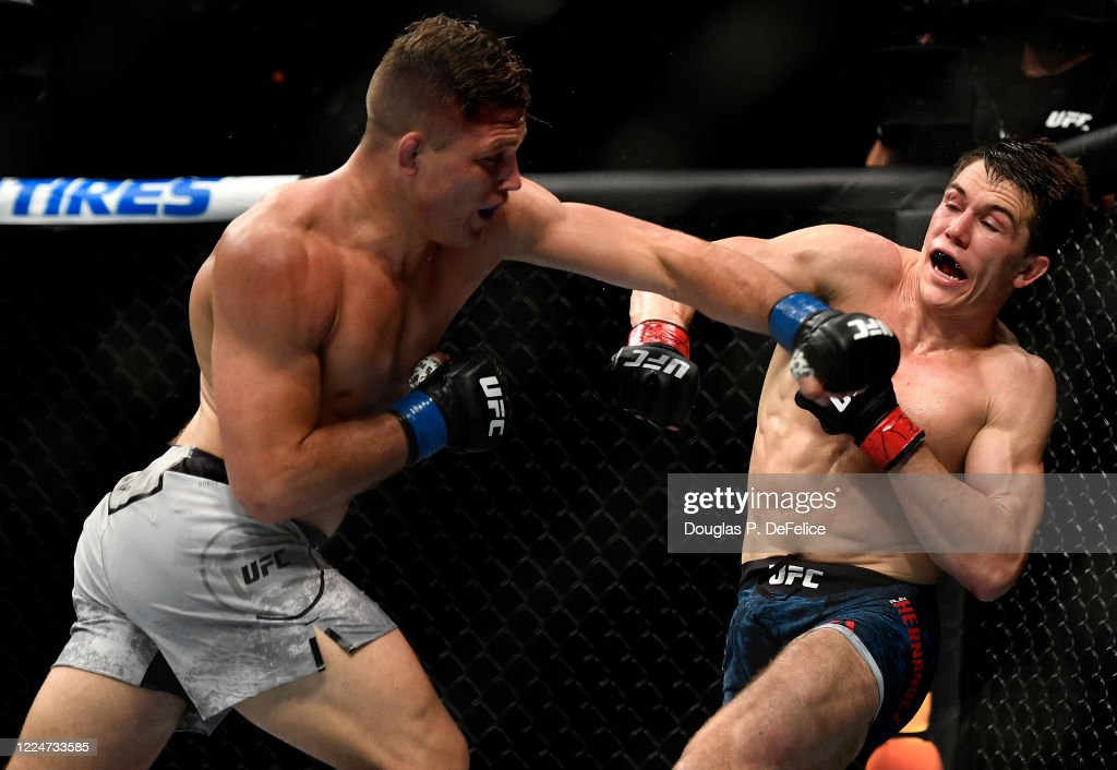 UFC Fight Night Hernandez v Dober : News Photo