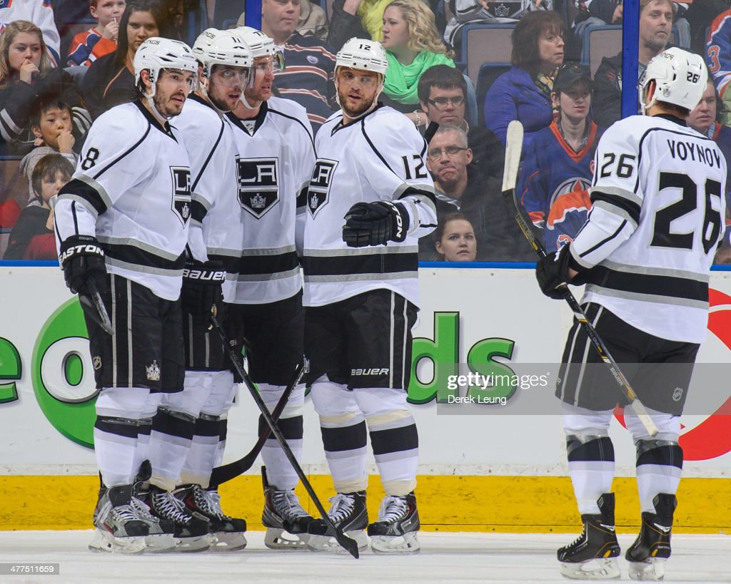 Los Angeles Kings v Edmonton Oilers : News Photo