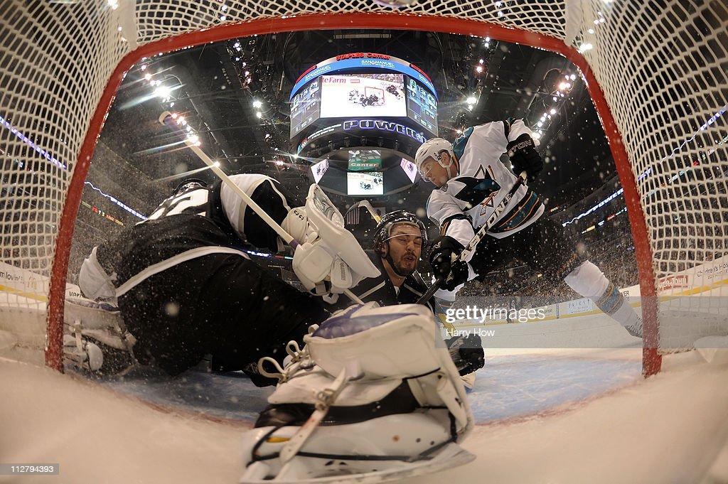 San Jose Sharks v Los Angeles Kings - Game Four