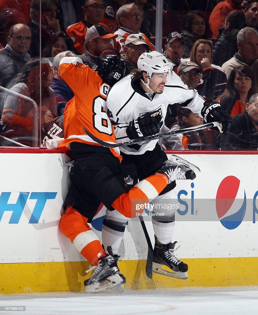 Los Angeles Kings v Philadelphia Flyers