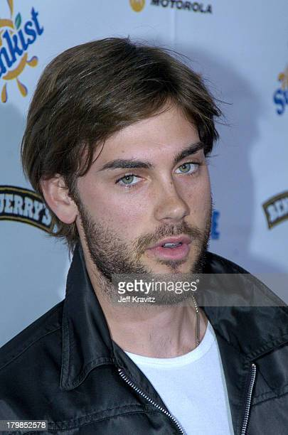 Drew Fuller during Rock The Vote 2004 National Bus Tour Concert June 16 2004 at Avalon in Hollywood California United States