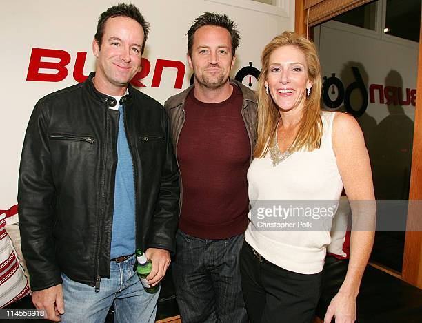 Drew Gerstein Matthew Perry and Janet Crown Peterson *Exclusive*
