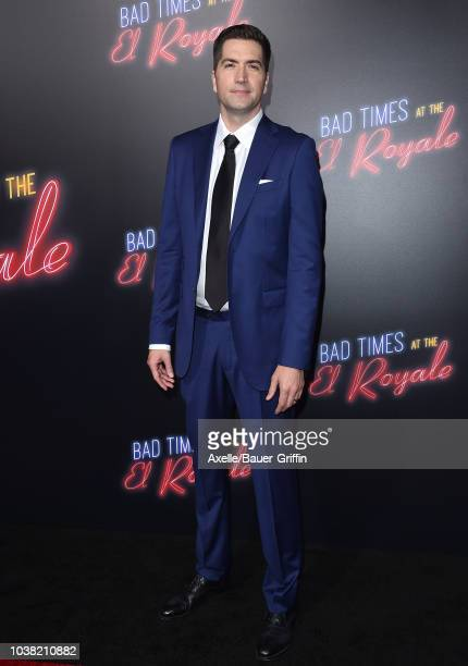Drew Goddard attends the premiere of 20th Century FOX's 'Bad Times at the El Royale' at TCL Chinese Theatre on September 22, 2018 in Hollywood,...