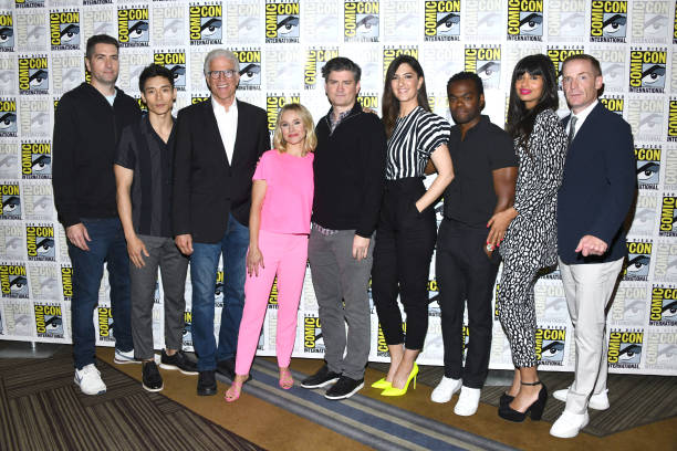 "CA: 2019 Comic-Con International - ""The Good Place"" Photo Call"