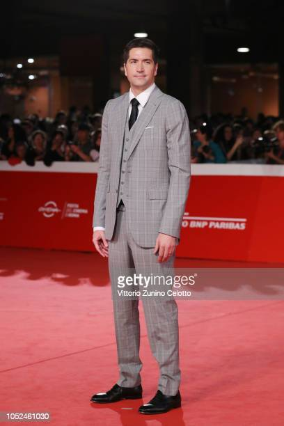 Drew Goddard walks the red carpet ahead of the Bad Times At The El Royale screening during the 13th Rome Film Fest at Auditorium Parco Della Musica...