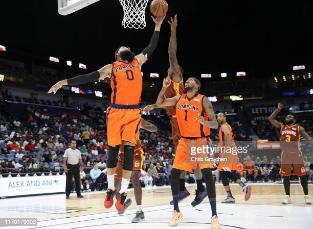 Drew Gooden of 3's Company goes for a lay up during the BIG3 Playoffs at Smoothie King Center on August 25, 2019 in New Orleans, Louisiana.