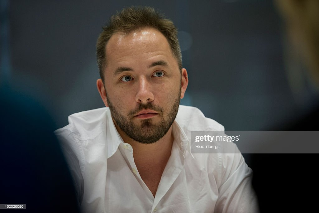 Dropbox Inc. Chief Executive Officer Drew Houston Interview : News Photo