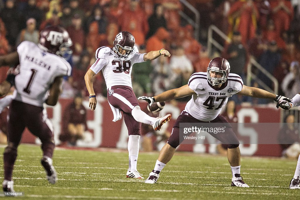 Texas A&M Aggies  v Arkansas Razorbacks : News Photo