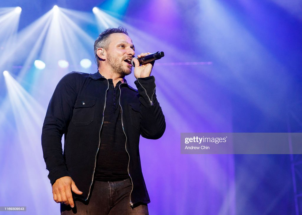 98 Degrees Performs At PNE Amphitheatre : News Photo