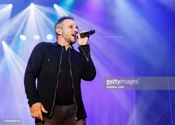 Drew Lachey of 98 Degrees performs on stage during Summer Night Concerts at PNE Amphitheatre on August 20 2019 in Vancouver Canada
