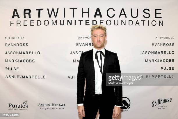 Drew Mac attends Freedom United Foundation presents Art with a Cause on July 27 2017 in Los Angeles California