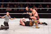 cologne germany drew mcintyre competes ring