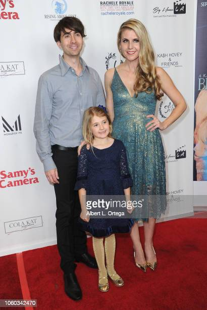 Drew Milford Kathy Kolla and Claire Milford arrive for the Film Fest LA At LA Live Kash Hovey Friends held at Regal Cinemas LA LIVE Stadium 14 on...