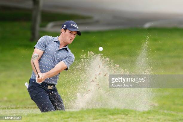 Drew Nesbitt of Canada during the final round of the PGA TOUR Latinoamerica 60º Abierto Mexicano de Golf at Club Campestre Tijuana on May 26 2019 in...