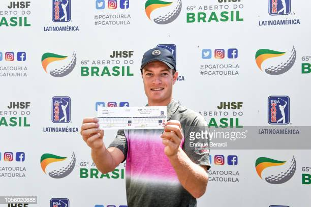 Drew Nesbitt of Canda posted a 59 a first for the PGA TOUR Latinoamerica during the third round of the PGA TOUR Latinoamerica 65 JHSF Aberto do...