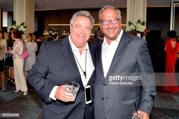 Drew Nieporent and Neal Sroka attend Magrino PR 25th Anniversary at Bar SixtyFive at Rainbow Room on July 25 2017 in New York City