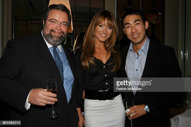 Drew Nieporent Jane Notar and Howard Kuo attend Gordon Ramsay Restaurant Opening at London Hotel at The London Hotel on November 14 2006 in New York...