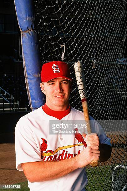 Drew of the St Louis Cardinals poses for a portrait on November 13 1998