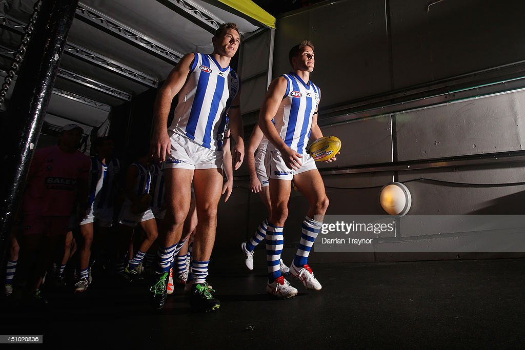 AFL Rd 14 - Melbourne v North Melbourne